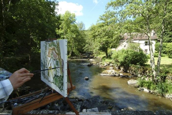 La vallée des peintres