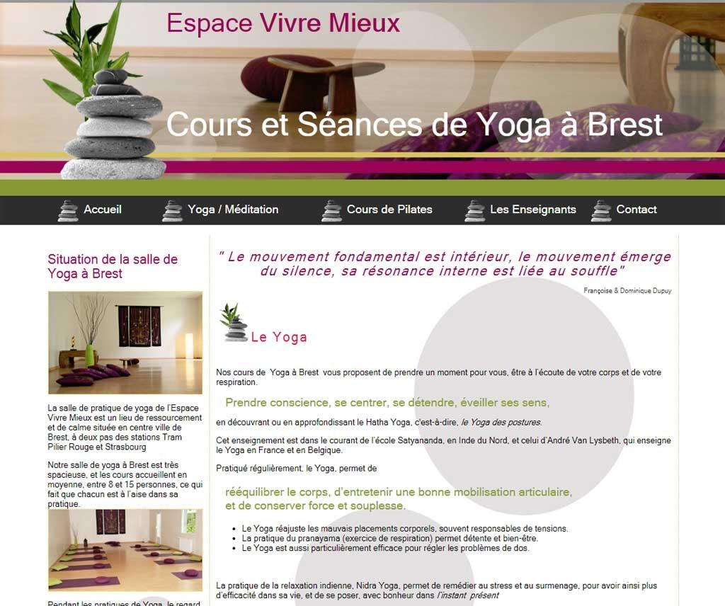 Yoga Espace Vivre Mieux
