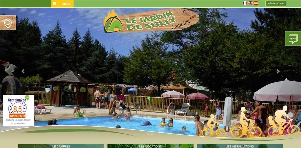 Camping Jardin de Sully