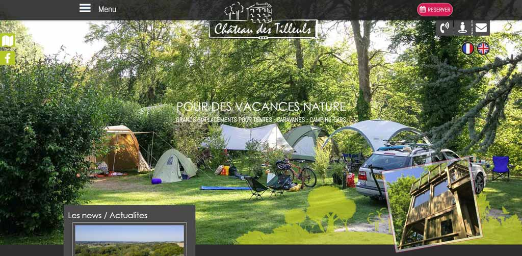 Camping Château Tilleuls