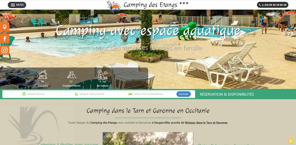 Camping Des Etangs