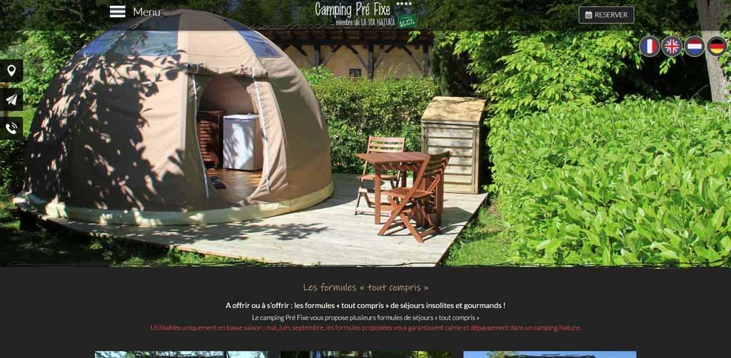 Camping Pré Fixe