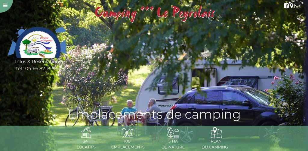 Camping le Peyrolais