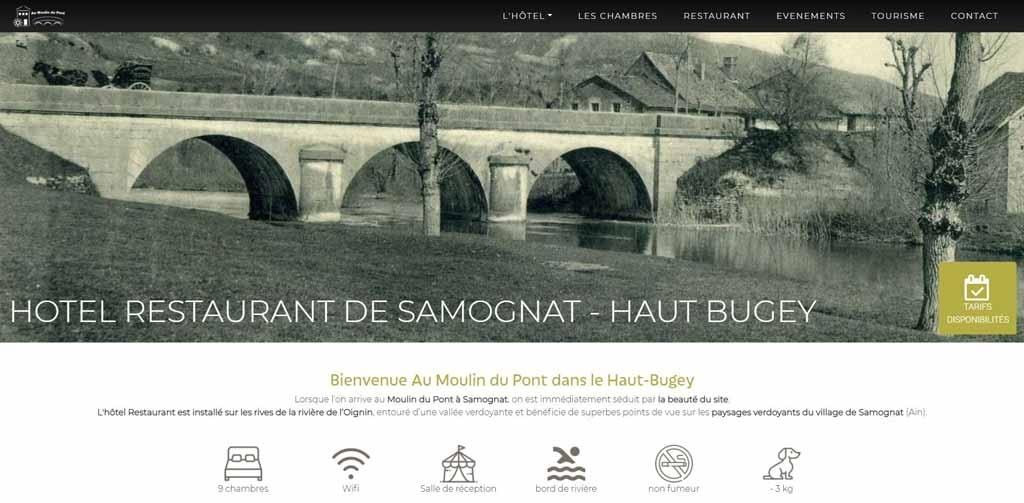 Hôtel Restaurant Au Moulin du Pont