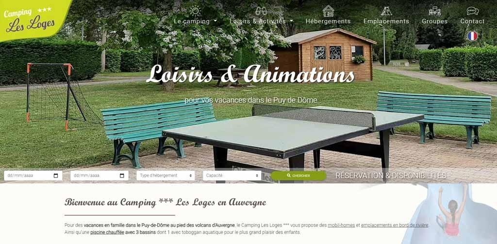 Camping Les Loges