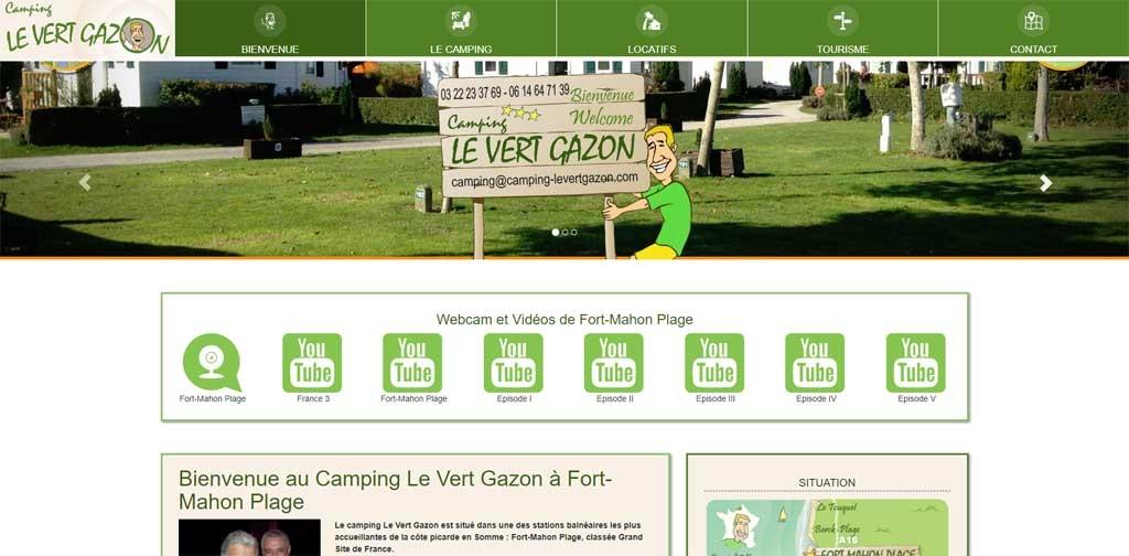 Camping le Vert Gazon